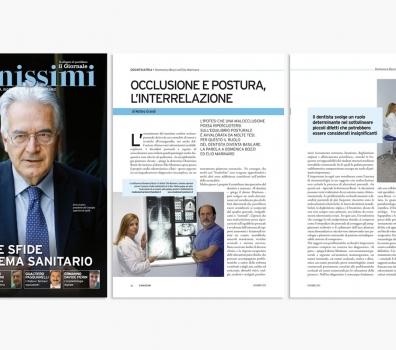 Occlusione e postura, l'interrelazione – Articolo della rivista Sanissimi di dicembre 2013